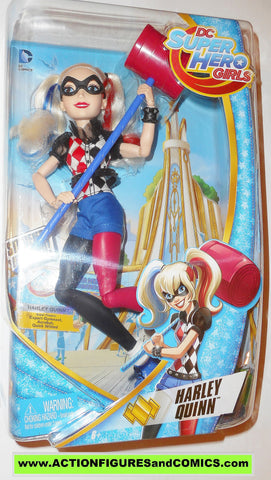 DC super hero girls HARLEY QUINN 12 inch action figures batman suicide squad