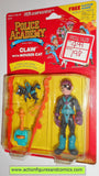 Police academy action figures CLAW mouser cat 1988 moc kenner toys