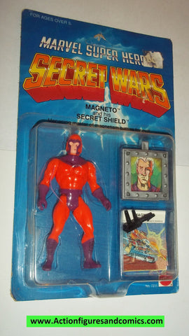 secret wars MAGNETO vintage 1984 mattel moc action figures x-men marvel super heroes #0234