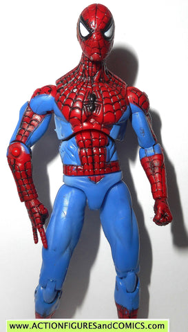 marvel universe SPIDER-MAN red blue classic secret wars hasbro toys action figures