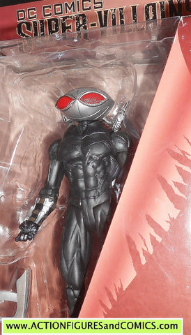 dc direct BLACK MANTA super villains comics collectibles new 52 aquaman moc mib