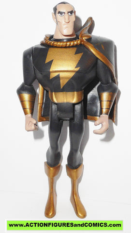 justice league unlimited BLACK ADAM shazam family JLU Action figures