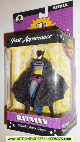 dc direct BATMAN 1st appearance collectibles wave 1 2004 moc