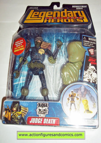 Legendary Comic Book Heroes JUDGE DEATH Dredd Marvel Legends toy biz mib moc mip action figures