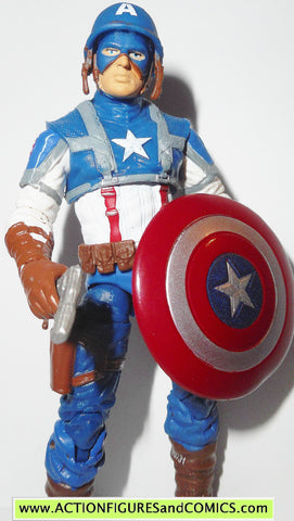 marvel universe CAPTAIN AMERICA Super combat 07 2010 movie action figures