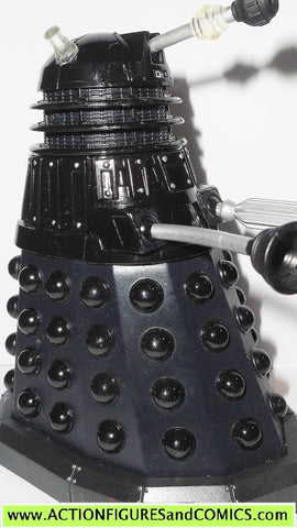 doctor who action figures DALEK black drone character options toys