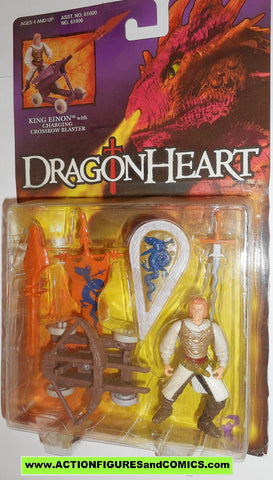 Dragonheart KING EINON kenner 1995 movie action figures moc