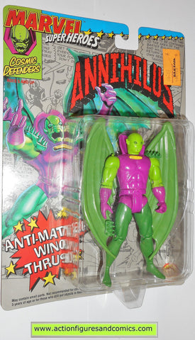 marvel super heroes toy biz ANNIHILUS fantastic four 1993 action figures moc