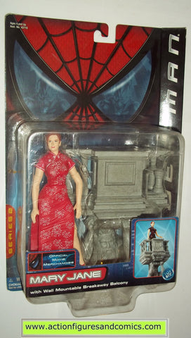 Spider-man movie MARY JANE pink dress variant marvel legends toy biz action figures moc mip mib