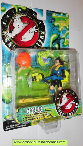 ghostbusters KYLIE & SLIMER extreme trendmasters toys action figures moc mip mib