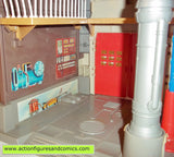 The Real Ghostbusters FIRE HOUSE headquarters kenner complete mib moc mip