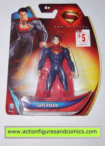 Superman man of steel MOVIE SUIT infinite heroes crisis mattel toys action figures moc mip mib