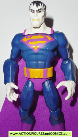 DC universe total heroes BIZARRO superman 2013 6 inch action figures