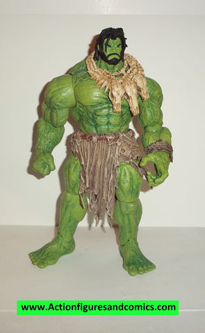 marvel select BARBARIAN HULK 10 inch complete toy biz marvel legends