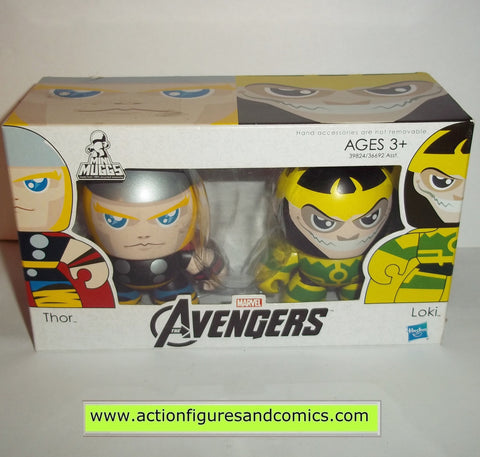 mighty muggs marvel universe THOR & LOKI avengers movie mini