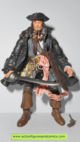 Pirates of the Caribbean JACK SPARROW CAPTAIN series 1 2007 action figures