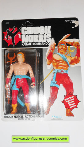 chuck norris karate kommandos CHUCK NORRIS BATTLE GEAR vintage 1986 action figures kenner 0444