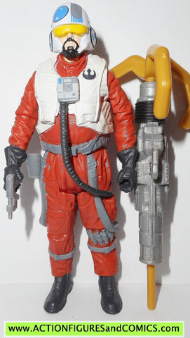 star wars action figures SNAP WEXLEY x-wing pilot force awakens 2015