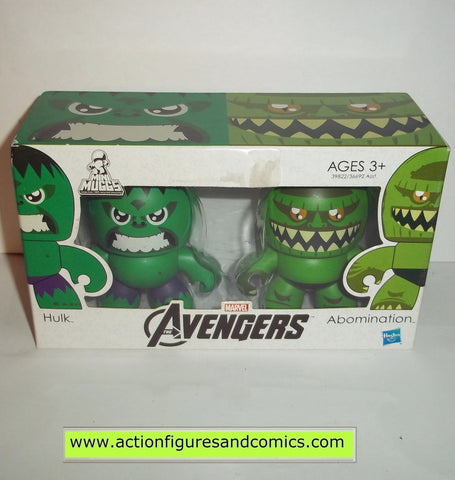 mighty muggs marvel universe HULK & ABOMINATION avengers movie mini
