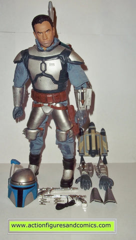 star wars action figures JANGO FETT 12 inch electronic ultimate 2002 attack of the clones saga hasbro toys action figures