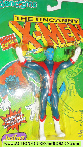 marvel super heroes NIGHTCRAWLER X-MEN 1991 bend ems justoys action figures moc 00