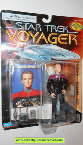 Star Trek TOM PARIS voyager 1996 playmates action figures toys moc