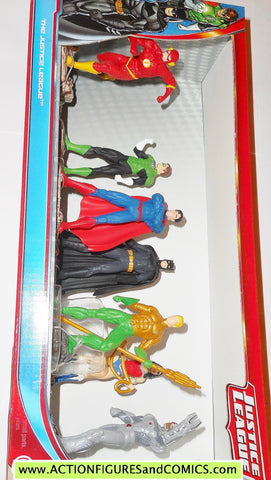 justice league schleich batman superman aquaman wonder woman cyborg mib moc
