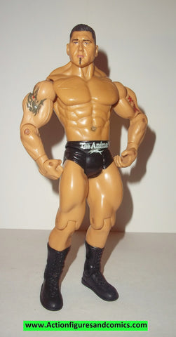 Wrestling WWE action figures BATISTA road to wrestlemania 23 series 1 jakks