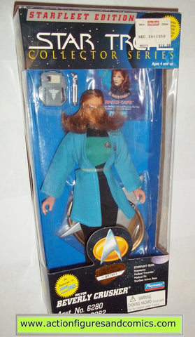 Star Trek DOCTOR BEVERLY CRUSHER 9 inch playmates toys action figures moc mip mib