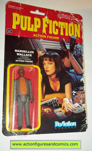 Reaction figures Pulp Fiction MARSELLUS WALLACE funko toys action moc mip mib