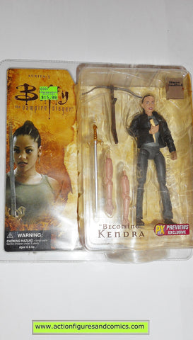 Buffy the vampire slayer KENDRA BECOMING PX previews exclusive moc mip mib