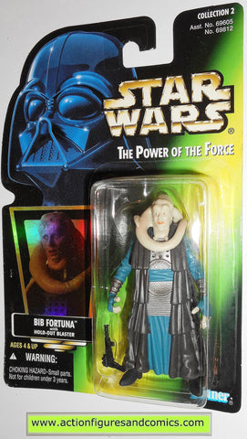 star wars action figures BIB FORTUNA .01 power of the force hasbro toys moc