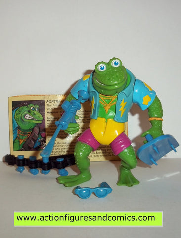 teenage mutant ninja turtles GENGIS FROG 1989 complete tmnt