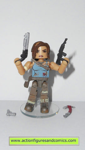 minimates Tomb Raider LARA CROFT action figures mini mates