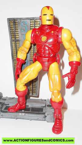marvel legends IRON MAN series 1 2002 toy biz action figures