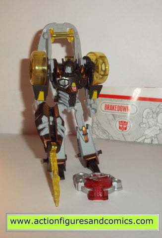 transformers cybertron BRAKEDOWN hasbro toys legends action figures instru