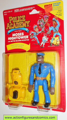 Police academy action figures MOSES HIGHTOWER 1988 moc kenner toys