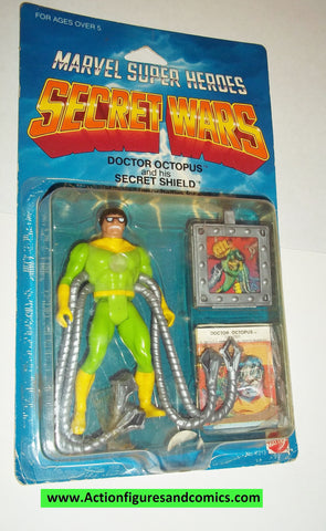 secret wars DOCTOR OCTOPUS vintage 1984 mattel moc bubble lifted action figures marvel super heroes spider-man 1985 #4333