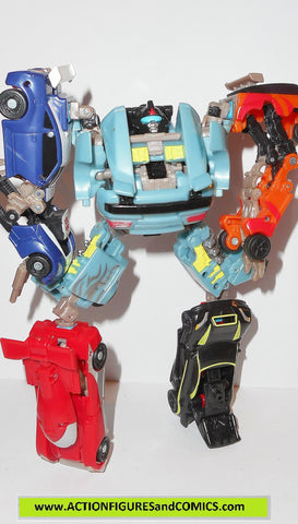 transformers powercore combiners DOUBLE CLUTCH RALLYBOTS action figures