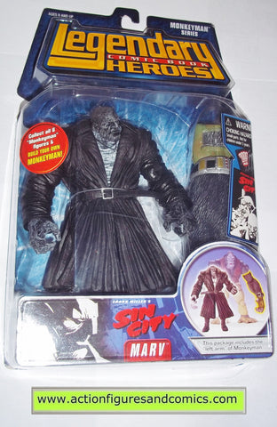 Legendary Comic Book Heroes MARV SIN CITY Marvel Legends toy biz mib moc mip action figures