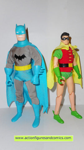 dc universe super heroes BATMAN & ROBIN golden age 9 inch hasbro toys action figures