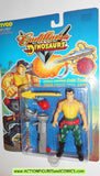 Cadillacs and Dinosaurs JACK TENREC jungle fighting 1993 tyco action figures moc