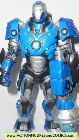 marvel legends IRON MAN arctic crusader armor toys r us tru movie 2008 6 inch