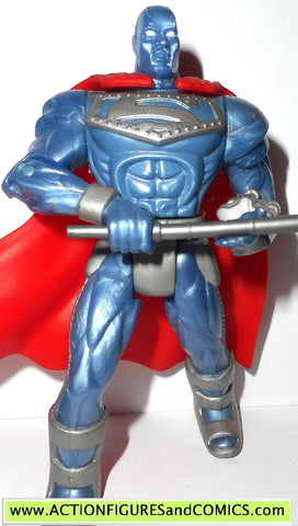 Superman Man of Steel STEEL JOHN HENRY IRONS action figure dc kenner figure