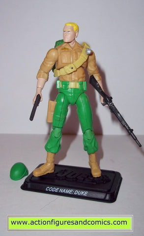 gi joe DUKE 2008 v24 25th anniversary action figures gijoe nofc