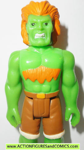 Street Fighter II BLANKA green reaction figures super 7 funko action toys 2
