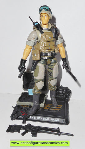 gi joe GENERAL HAWK 2014 50th anniversary hasbro action figures