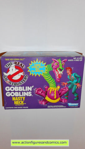 ghostbusters NASTY NECK gobblin goblins 1986 the real kenner toys action figures moc mip mib