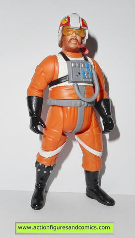 star wars action figures JEK PORKINS x-wing pilot power of the jedi