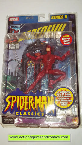 marvel legends DAREDEVIL spider-man classics toy biz action figures moc mip mib